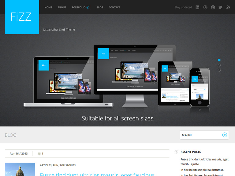 fizz-best-wordpress-theme