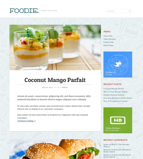 foodie-theme