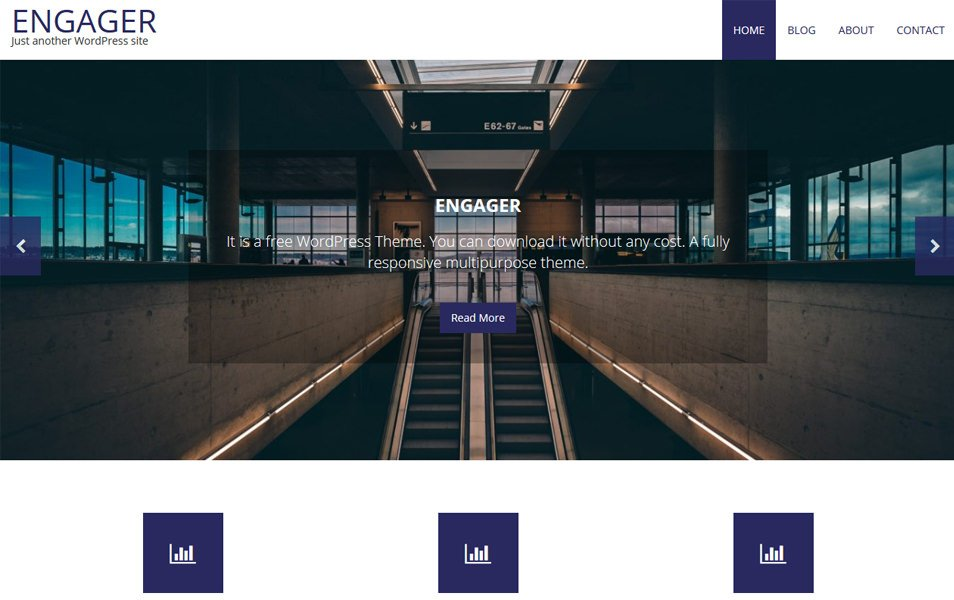 Engager Responsive WordPress Theme