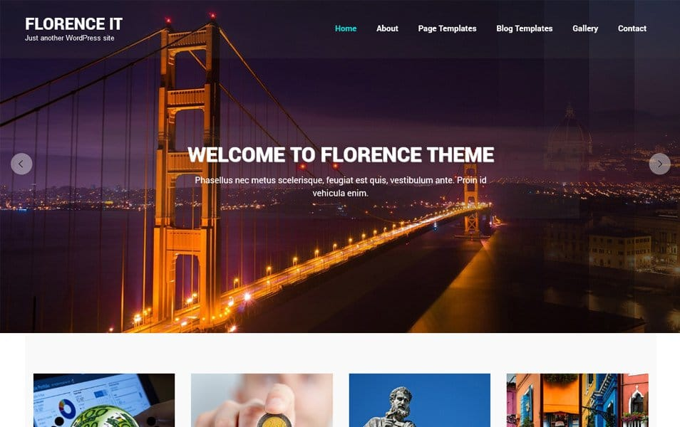 Florence IT Responsive WordPress Theme