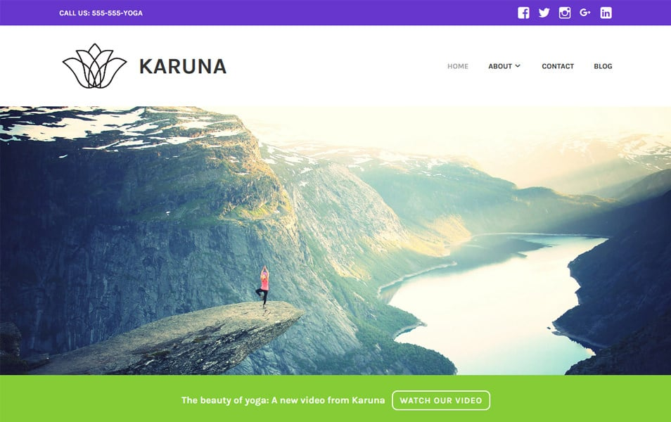Karuna Responsive WordPress Theme