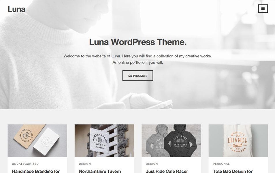 Luna Responsive WordPress Theme