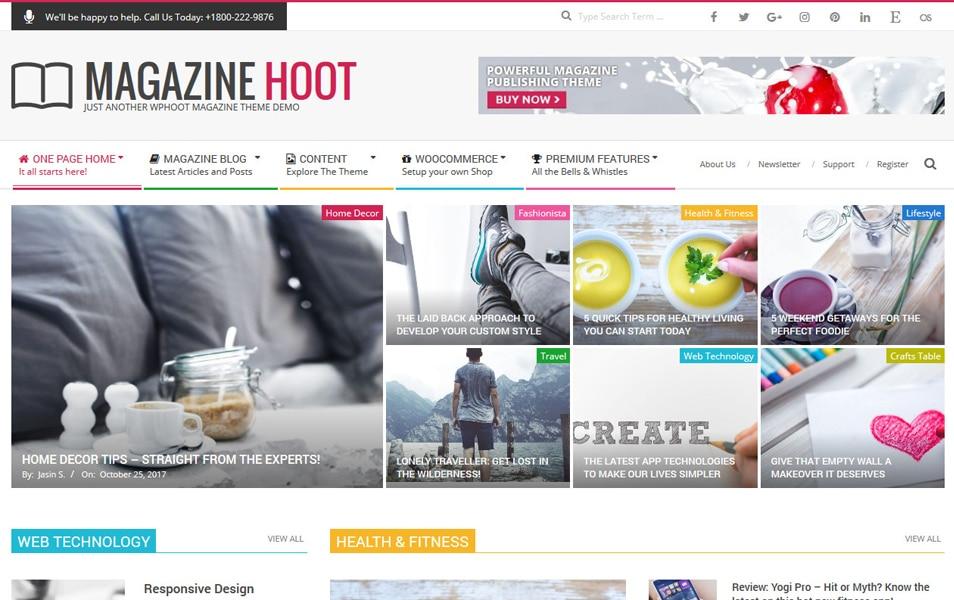 Magazine Hoot