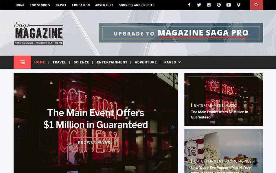 Magazine Saga