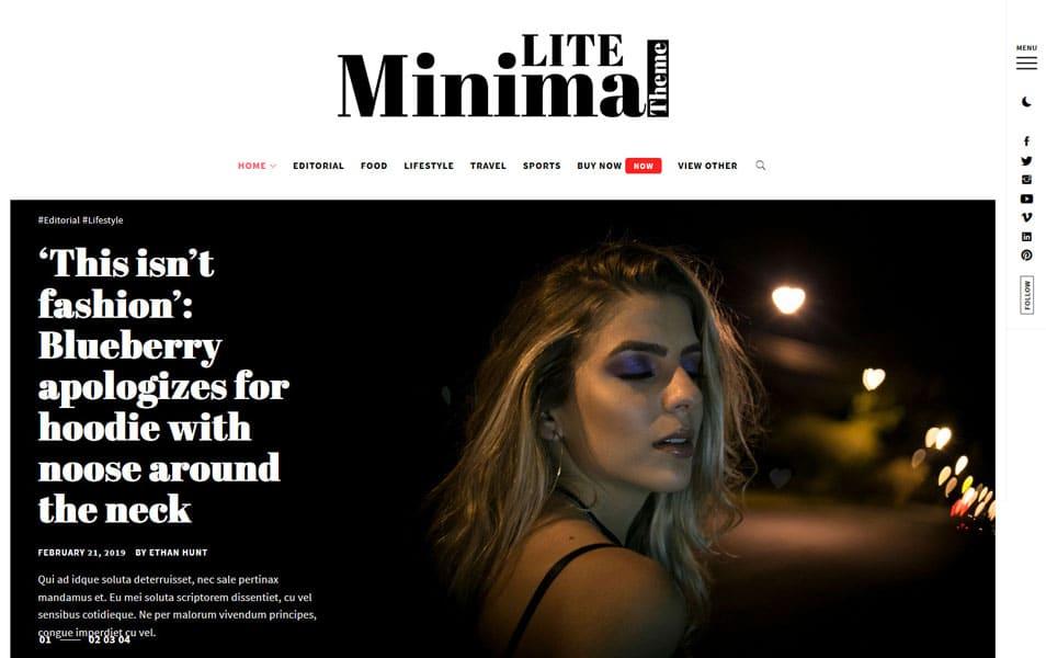 Minimal Lite