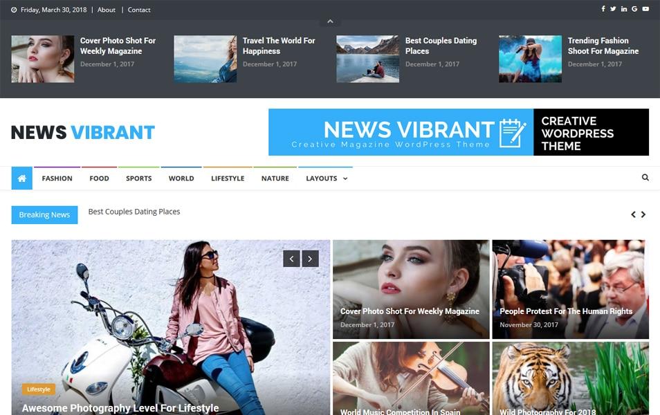 News Vibrant