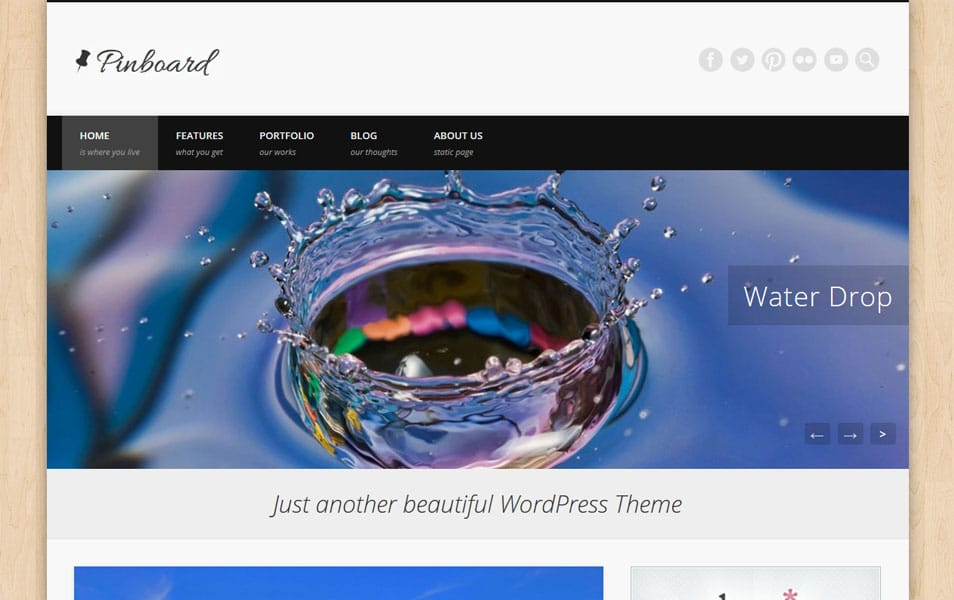 Pinboard Free WordPress Theme