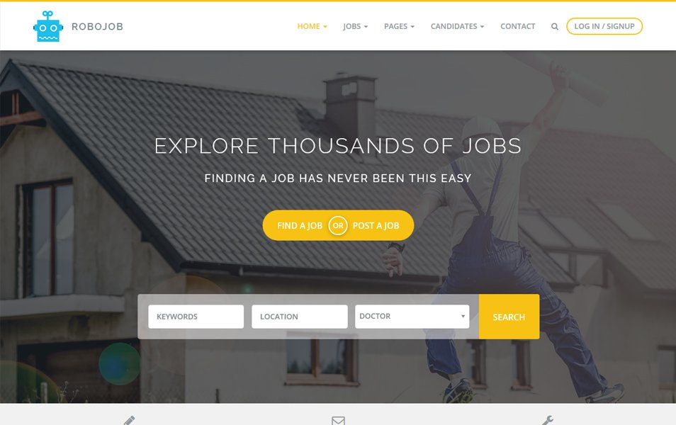 Robojob Lite Responsive WordPress Theme