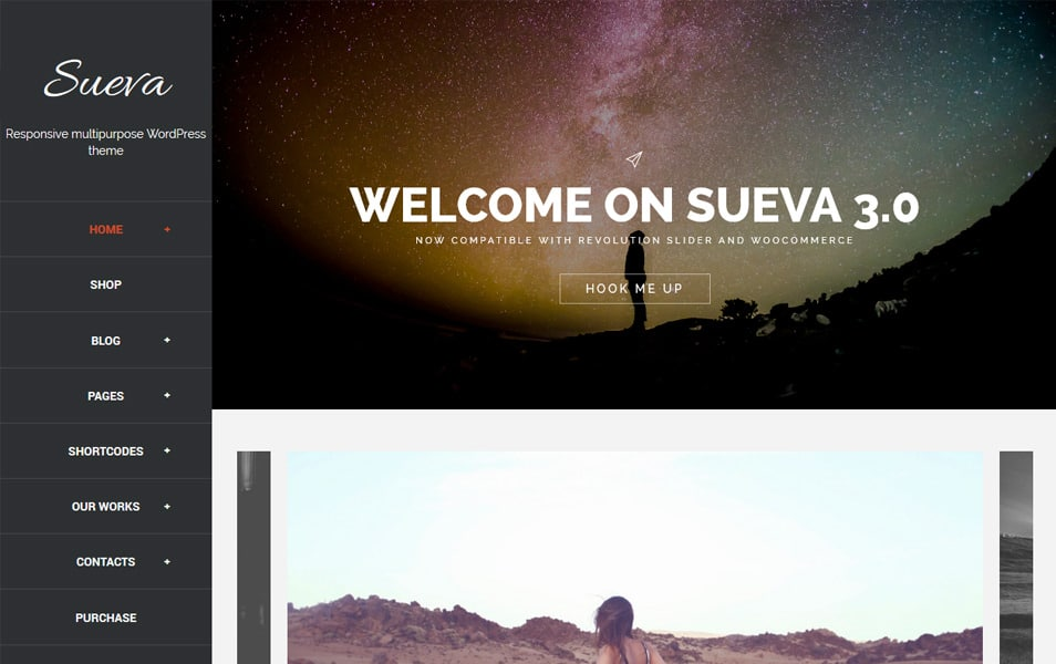 SuevaFree Responsive WordPress Theme