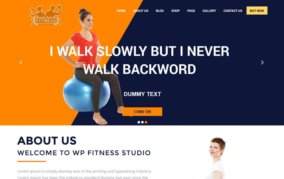 The WP Fitness
