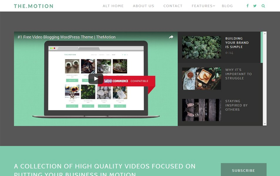 TheMotion Lite Responsive WordPress Theme