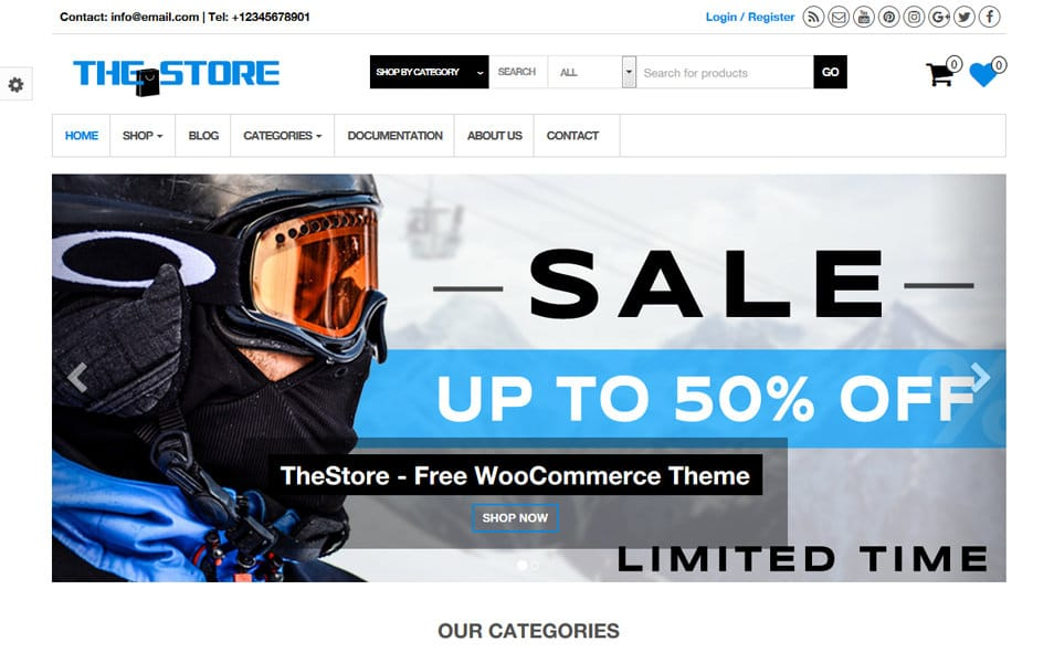 TheStore WooCommerce WordPress Theme