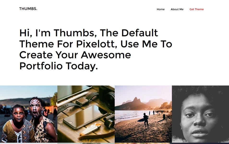 Thumbs Portfolio
