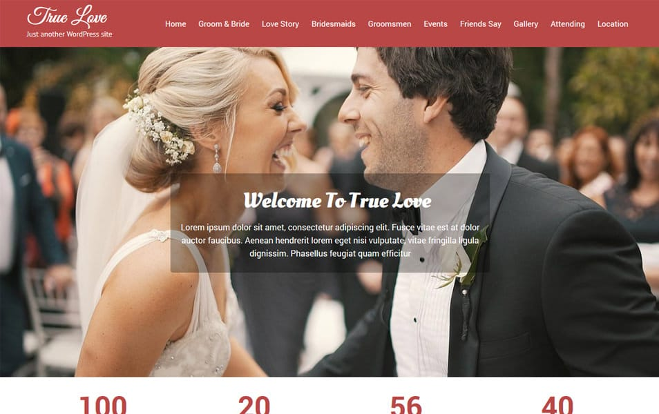 Truelove Responsive WordPress Theme