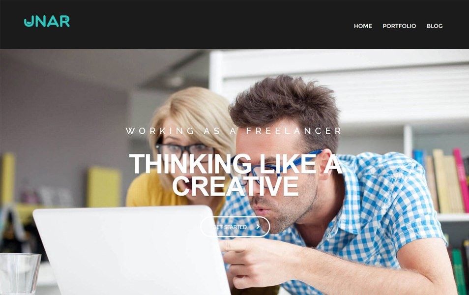 Unar Responsive WordPress Theme