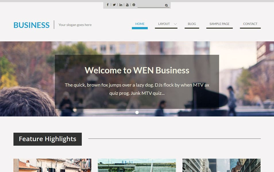 WEN Business WordPress Theme