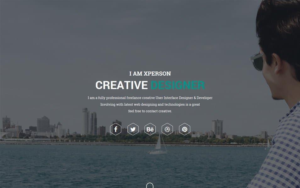 xPerson Lite Responsive WordPress Theme