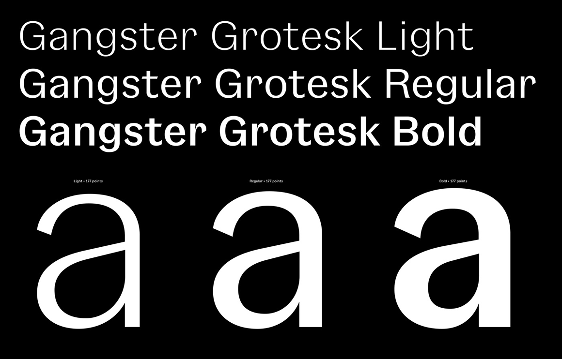 Gangster Grotesk, preview 01