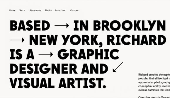 Alternative font sample screen